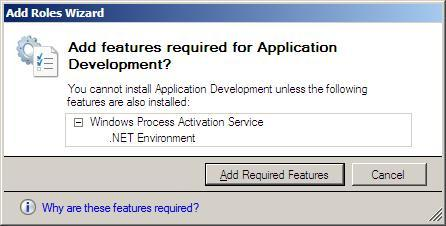 10 Steps to Installing the Web Server Role in Windows Server 2008 - 5