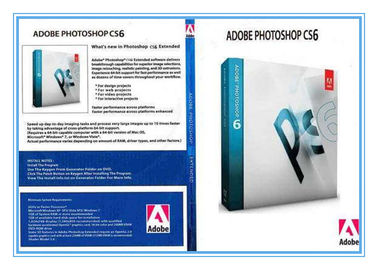Cina Adobe Photoshop CS5 Graphic Art Design Software Full Version Extended Retail Pack Activation pemasok