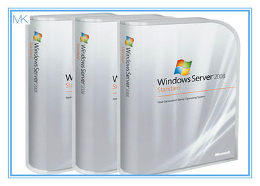Cina Microsoft Windows Software , Genuine Window Server 2008 Standard 32 & 64 Bit pemasok