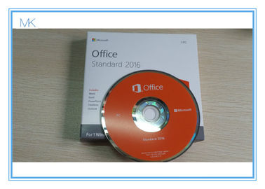 Microsoft Office 2016 Standard DVD Retail Pack Office 2016 Pro Key Activation Online