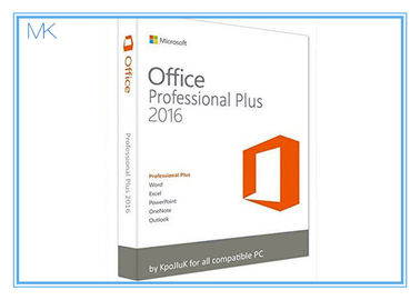 Original Key Microsoft Office 2016 Professional Plus Software Retailbox With USB