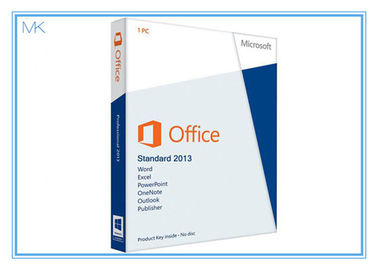 Cina 32 / 64 Bit Microsoft Office 2013 Retail Box Professional Plus 2013 Pro English DVD pemasok