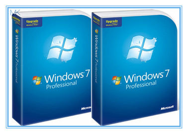 Cina Microsoft Windows Software Windows 7 Pro 64 Bit Full Retail Version DVD Sofware With COA 100% Activation pemasok