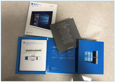 Korea Microsoft Windows 10 Operating System Home 32/64bit Genuine License Key Product Code USB
