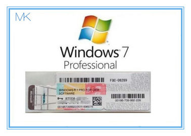 Cina OEM Win 7 Professional Product Key  For Windows 7 Pro Coa 32/64bit Activation Online pabrik
