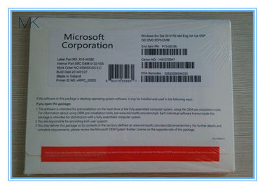 Cina OEM English Windows Server 2012 R2 Versions DVD OEM PACK 5 CALS pabrik