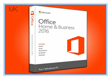 Cina BRAND NEW IN BOX Microsoft Office Professional 2016 Product Key Home & Business / Pro Plus English pabrik