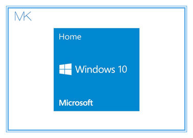 Cina Microsoft Windows 10 Home 64 Bit Retail Builder OEM Windows 10 Retail Box pabrik