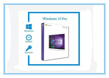 Cina 3.0 USB X64 Bit Microsoft Windows 10 Pro Product Key OEM Windows 10 Retail Box pabrik
